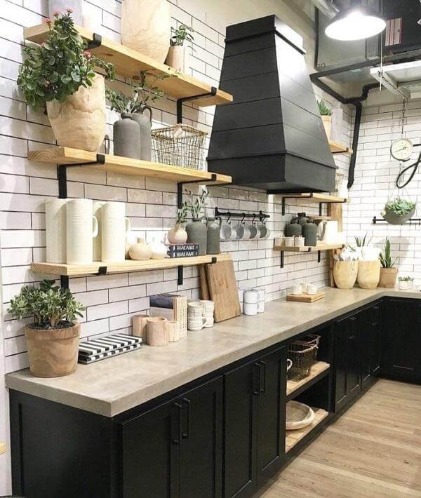 22 Modern Farmhouse Decor Ideas Being Easy To Apply For Your Kitchen