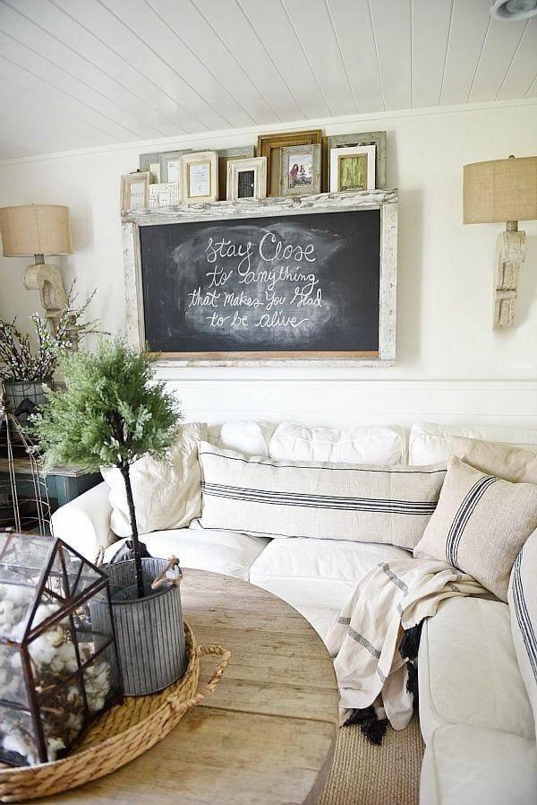 25 Rustic Farmhouse Living Room Décor Ideas For Your House