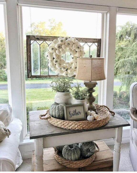 35 Unique Farmhouse Tabletop Arrangement Centerpieces
