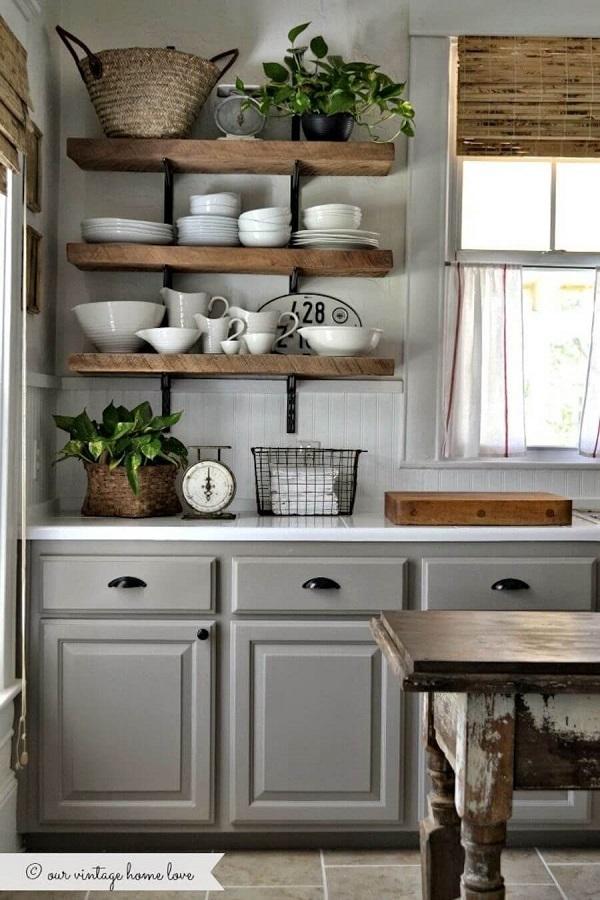 King Size Bed With Storage, 20 Rustic Farmhouse Kitchen Design Ideas Farmihomie Com