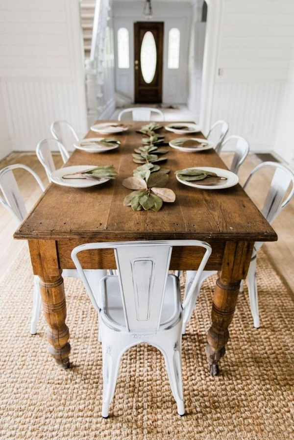 37 Farmhouse Dining Room Decor Ideas Farmihomie Com
