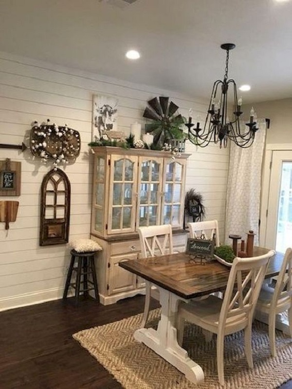37 Farmhouse Dining Room Decor Ideas