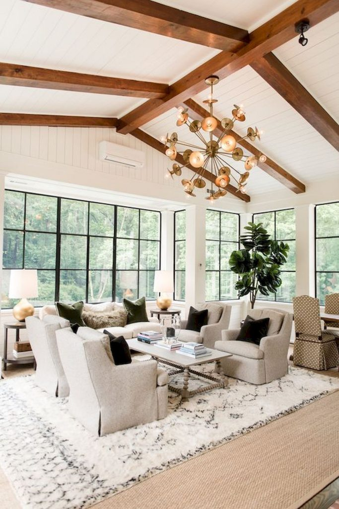 31 Farmhouse Living Room Lamps Design Ideas