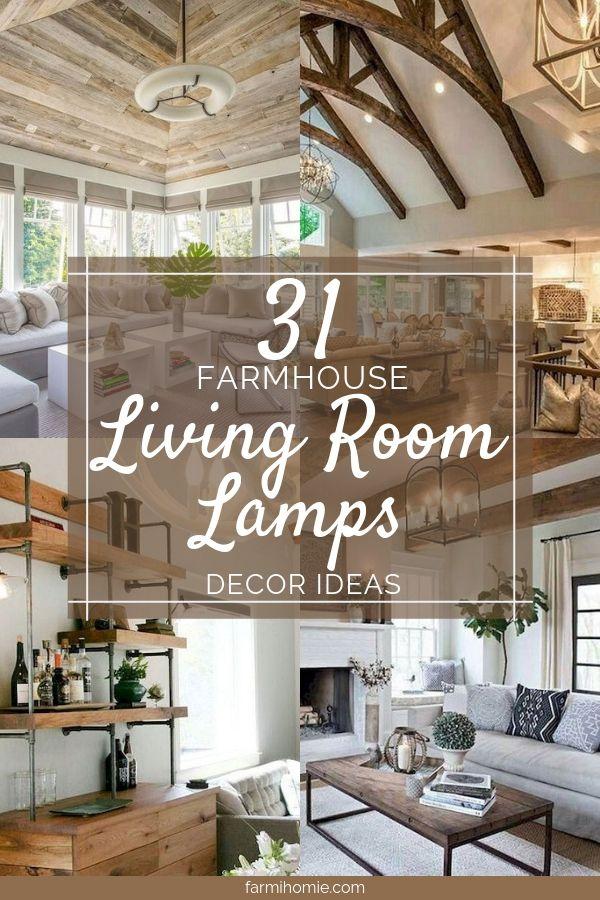 31 Farmhouse Living Room Lamps Design Ideas Home Innovation