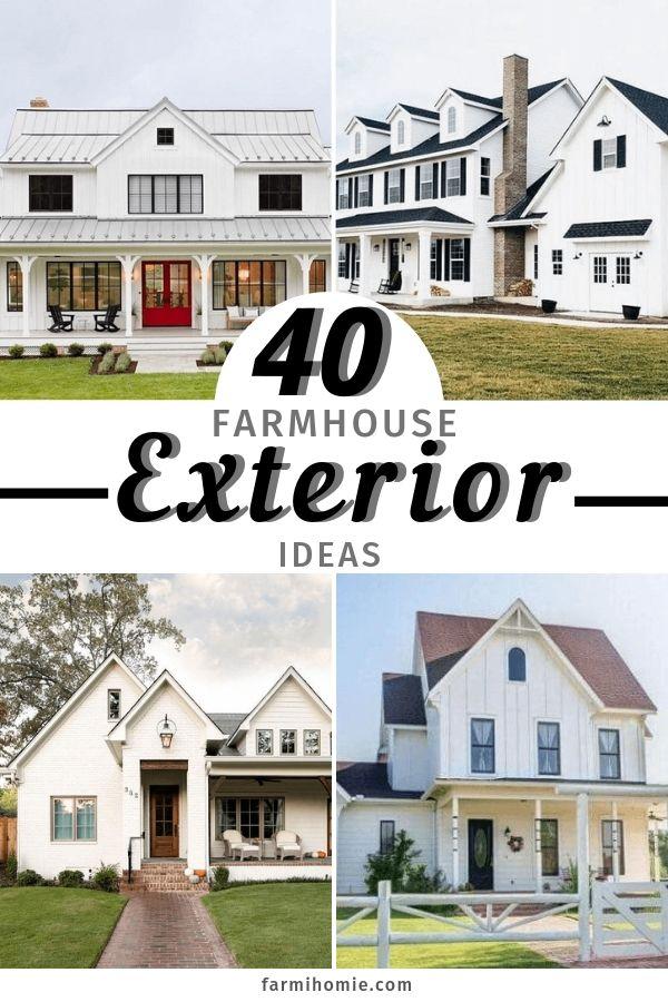 40 Modern Farmhouse Exterior Design Ideas Farmihomie Com