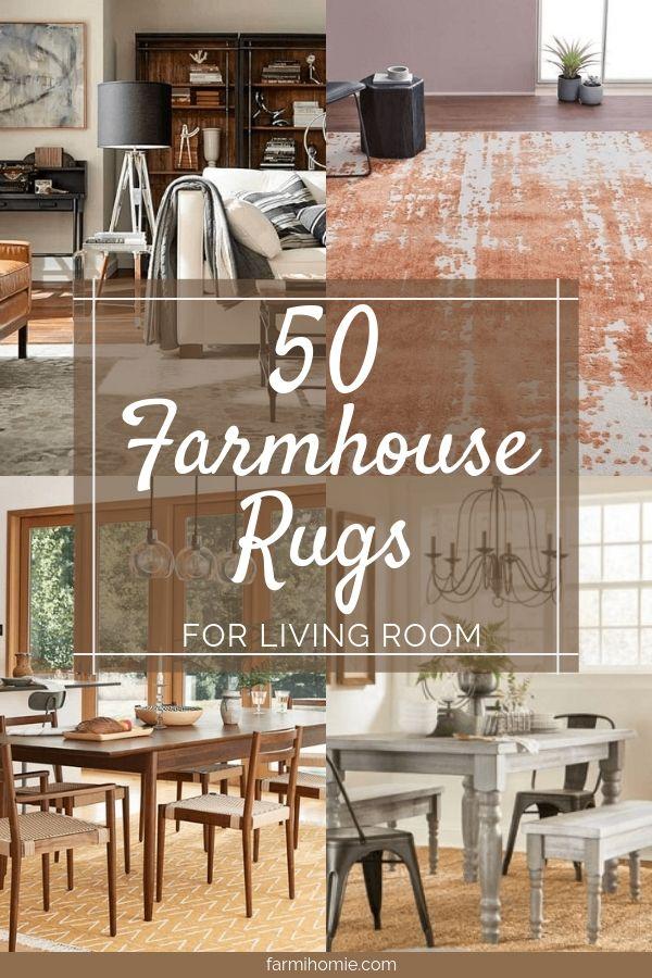 50 Rugs For Farmhouse Living Room Decorating Ideas Farmihomie Com