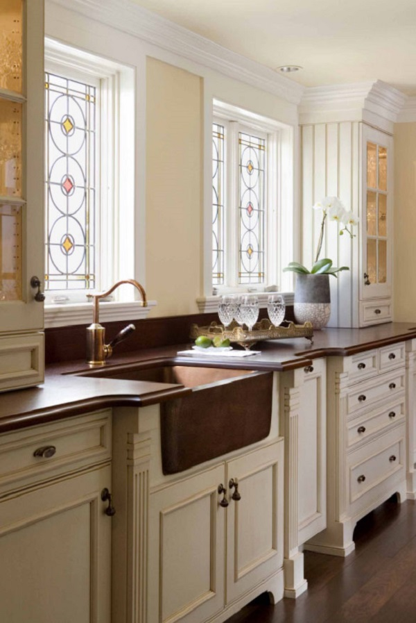 35 Fresh And Modern Farmhouse Kitchen Countertop Ideas
