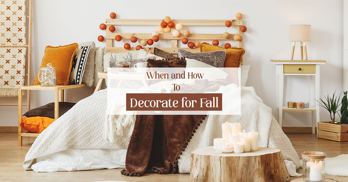 When and How to Decorate for Fall