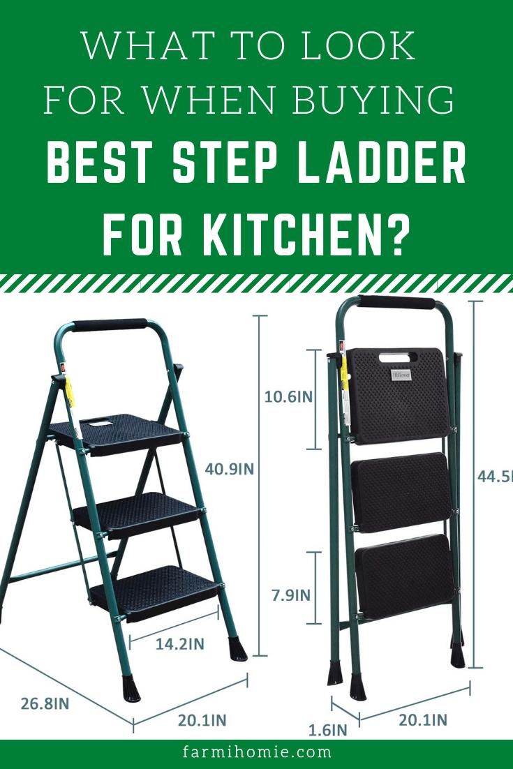 Best Step Ladder for Kitchen