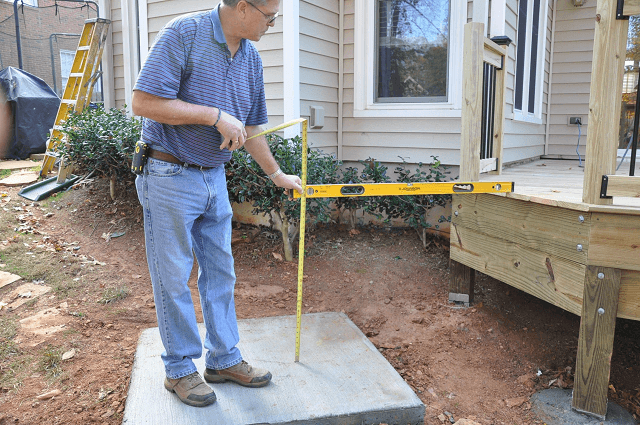 Cascading Deck Stairs DIY