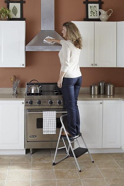 Cosco 2-Step Household Folding Step Stool2