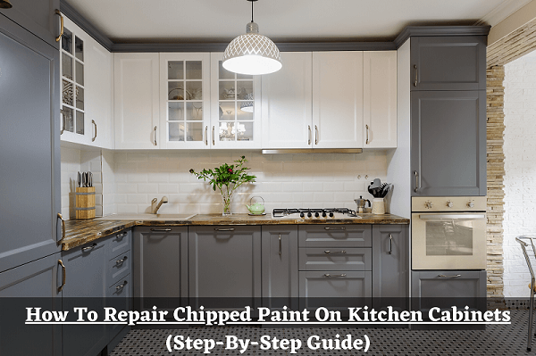 How To Repair Chipped Paint On Kitchen Cabinets ...