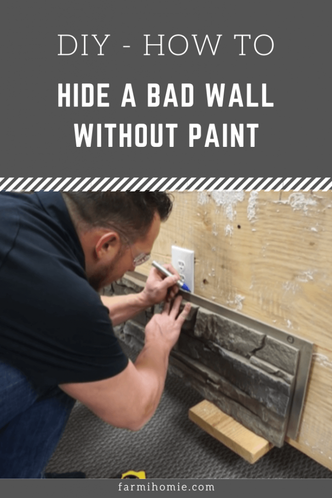 How to Hide a Bad Wall Without Paint