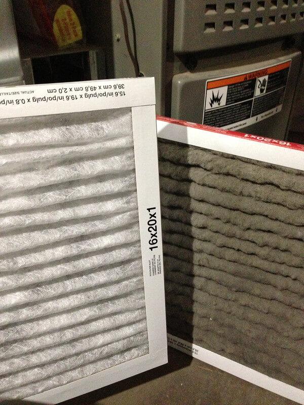 Change furrnace filter