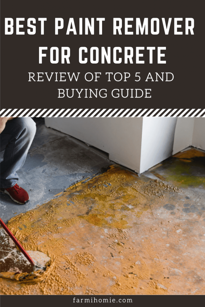 Best Paint Remover for Concrete - Top 5 Review and Buying Guide