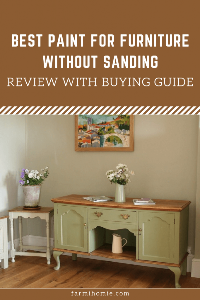 Furniture Without Sanding Review, Can You Paint Wood Furniture Without Sanding