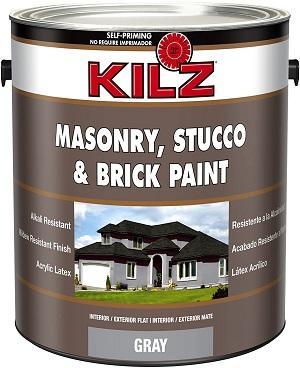 KILZ Self-Priming Masonry Flat Paint