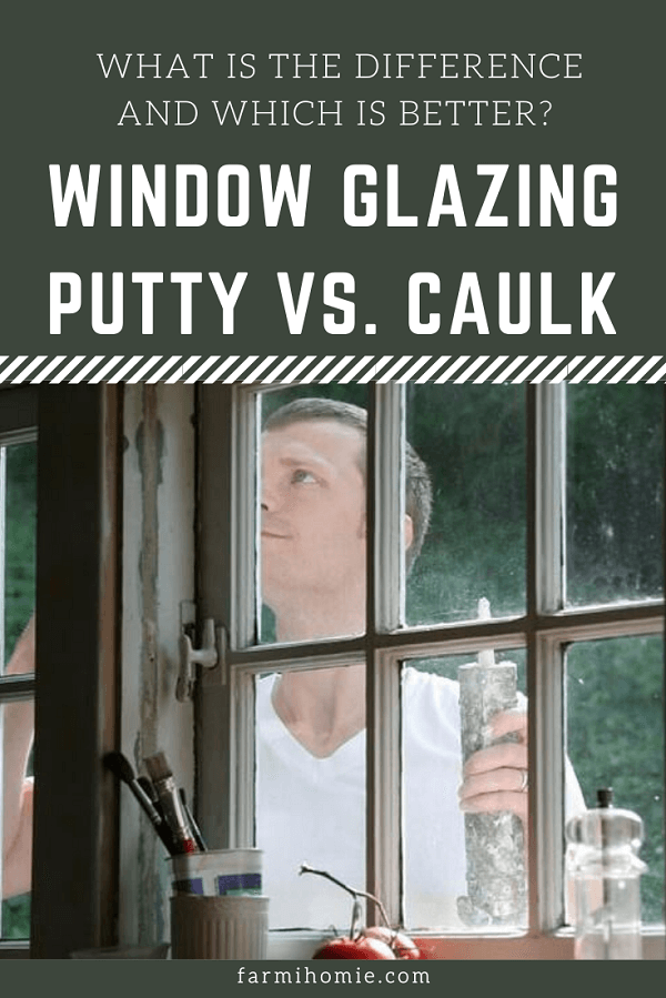 Window Glazing Putty Vs. Caulk