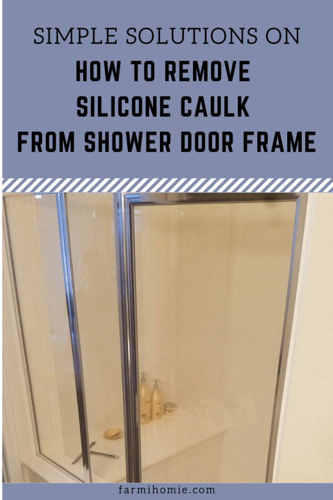 Simple Solutions on How to Remove Silicone Caulk From Shower Door Frame