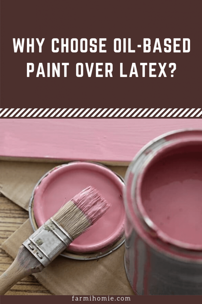 oil based paint over latex