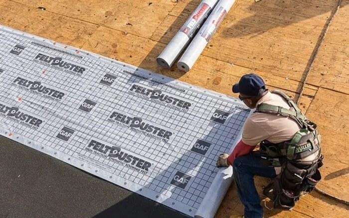 synthetic roof underlayment vs felt